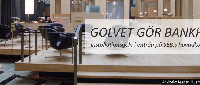 Installationsgolv
